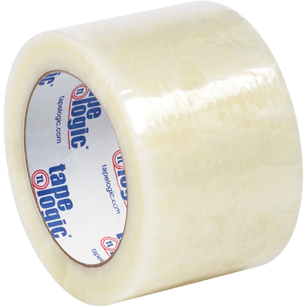 "3"" x 110 yds. Clear Tape Logic<span class='rtm'>®</span> #6651 Cold Temperature Tape"